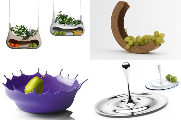 необычные вазы для фруктов