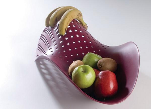 изысканная ваза для фруктов